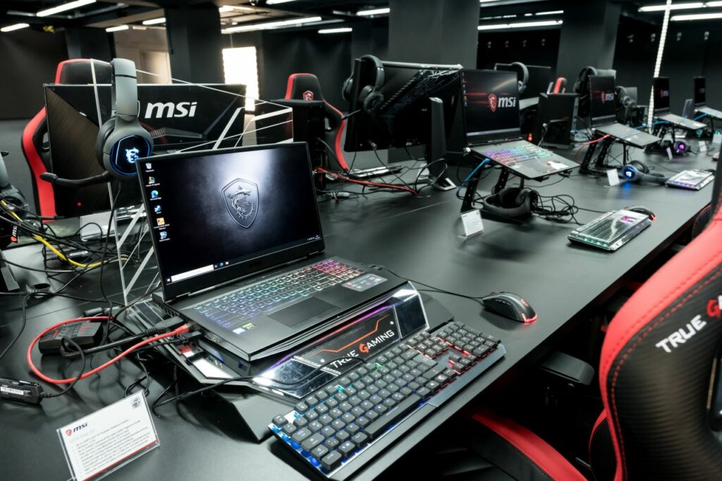 XPERION Highlights MSI Gaming Area
